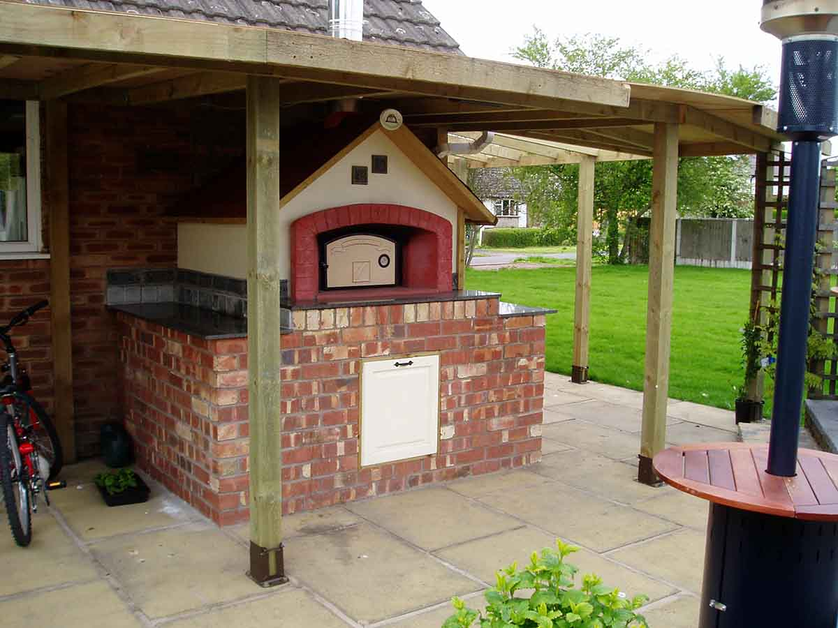 Moderno – Gas fired pizza oven kit