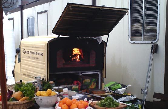 Bespoke Mobile Pizza Oven