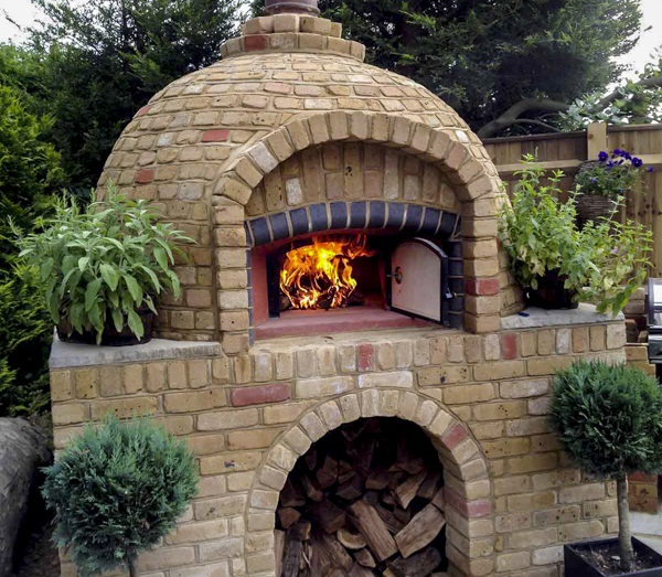 Wood Fired Pizza Oven Indoor Outdoor
